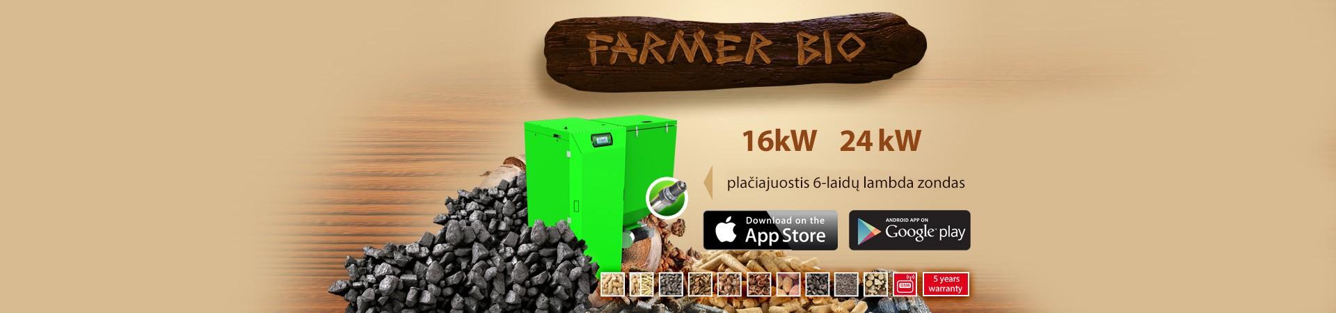 granuliniai katilai farmer bio