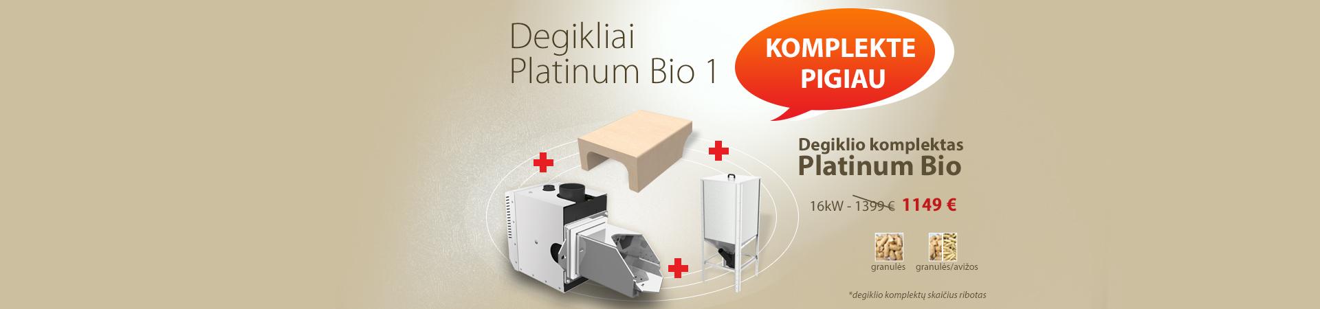 Platinum Bio Komplektas - akcija