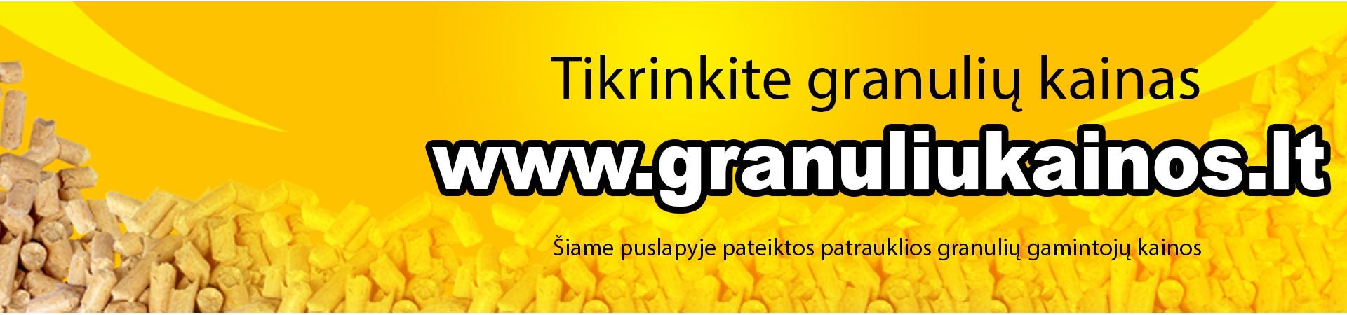 Granuliniai katilai ir granulių kaina