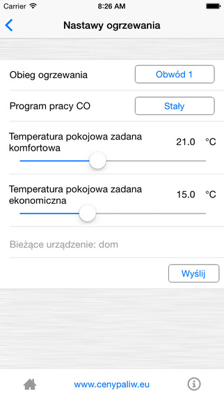 aplikacija iOS telefonams