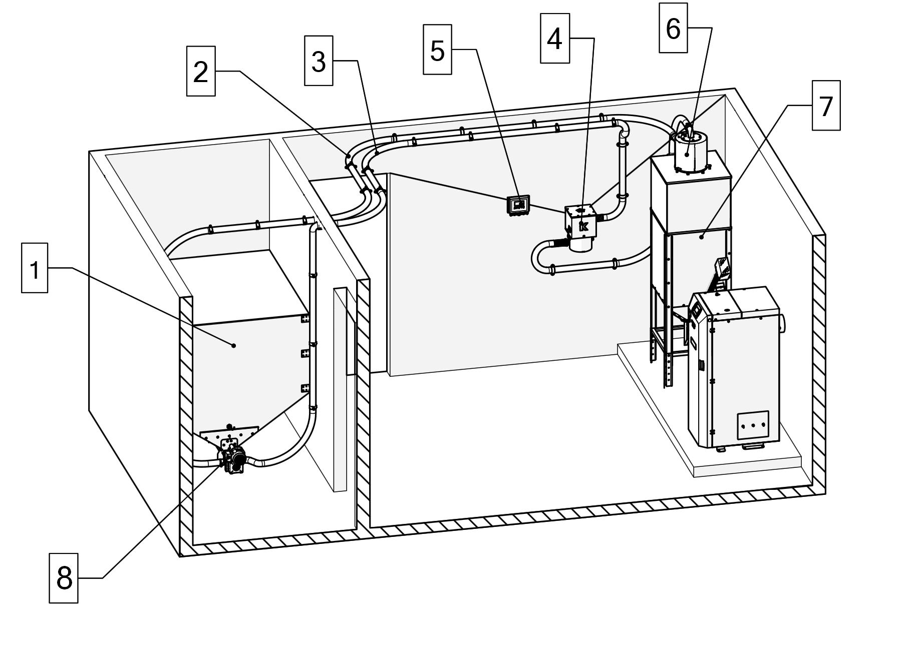 pneumatine tiekimo sistema patalpos pvz